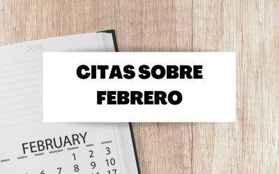 Las mejores frases sobre el mes de Febrero